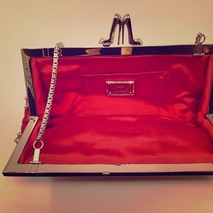 RED MISS LOUBI LOU Spiked Bag! Christian Louboutin